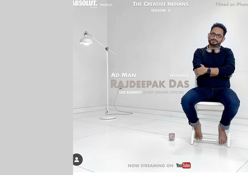 Docu-series 'Creative Indians' does a feature on Rajdeepak Das